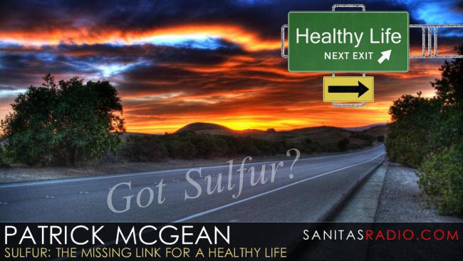 Sanitas Blog: Patrick McGean | Sulfur: The Missing Link for